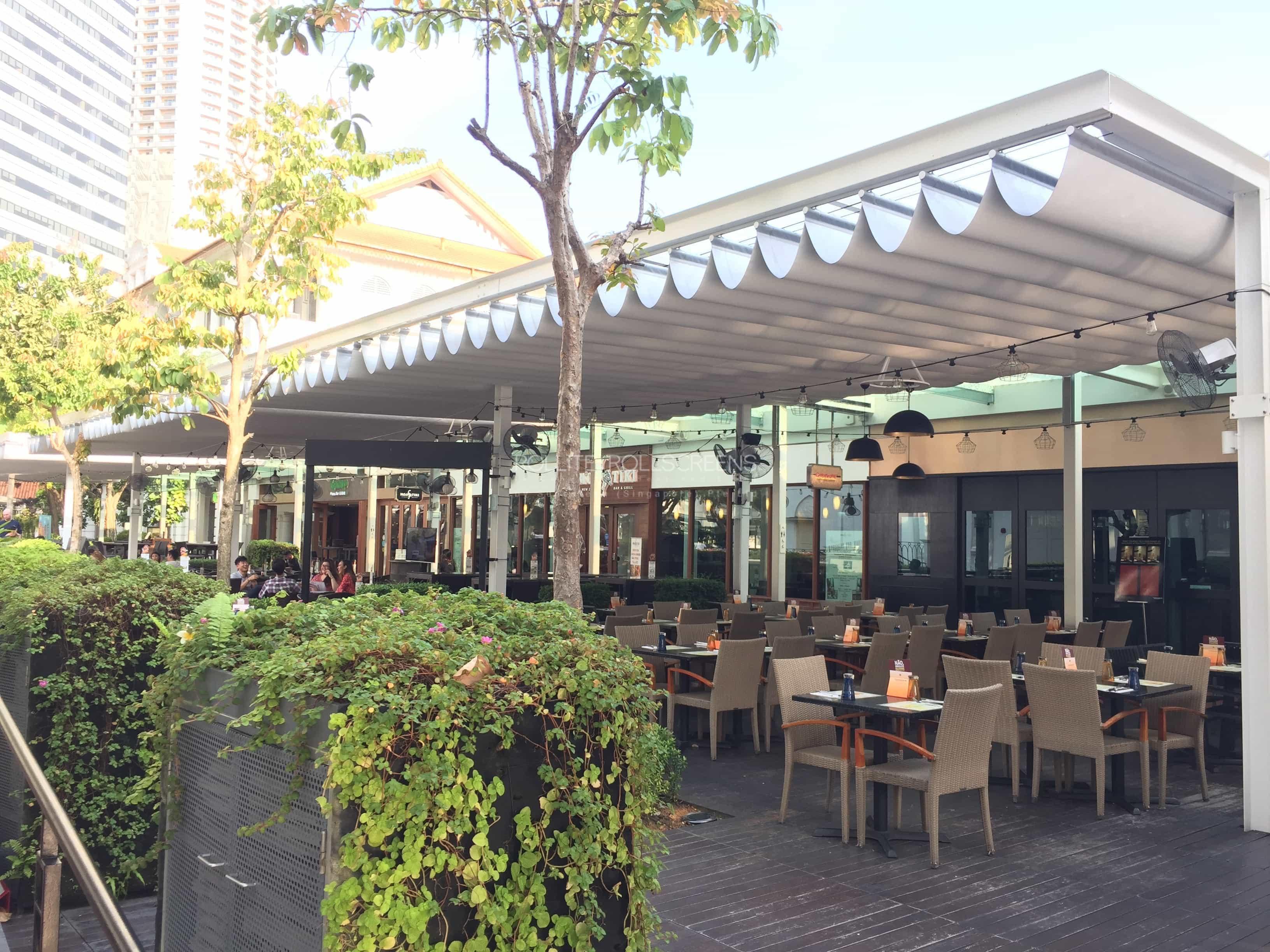 Sunscreen Singapore_Rollite External Scallop Skylight 10