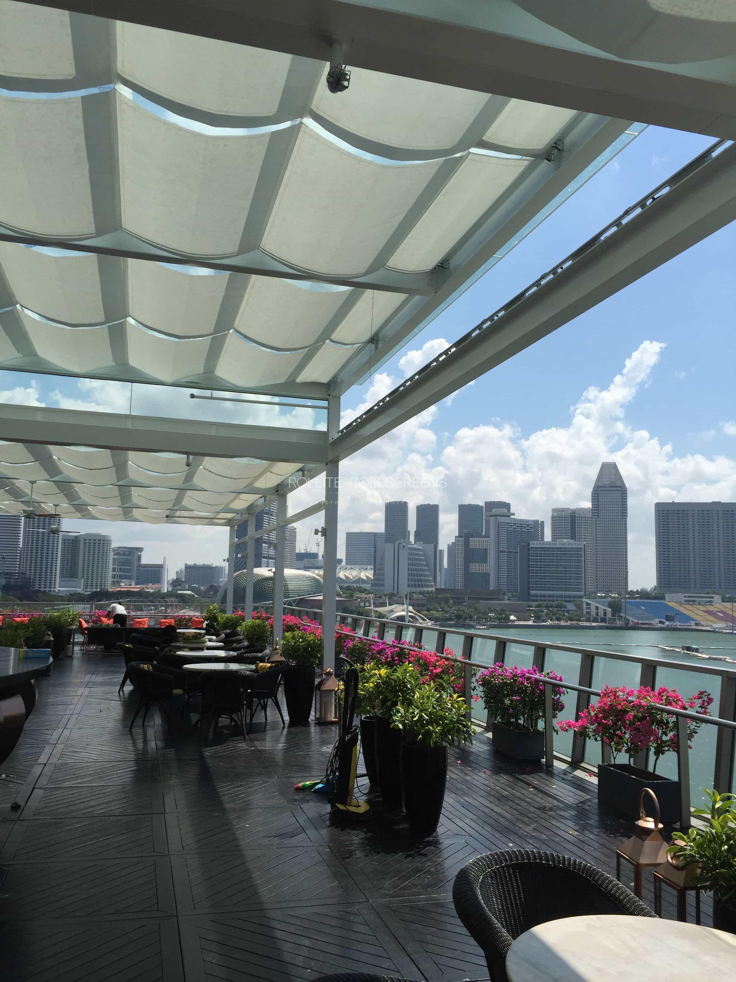 Sunscreen Singapore_Rollite External Scallop Skylight 12