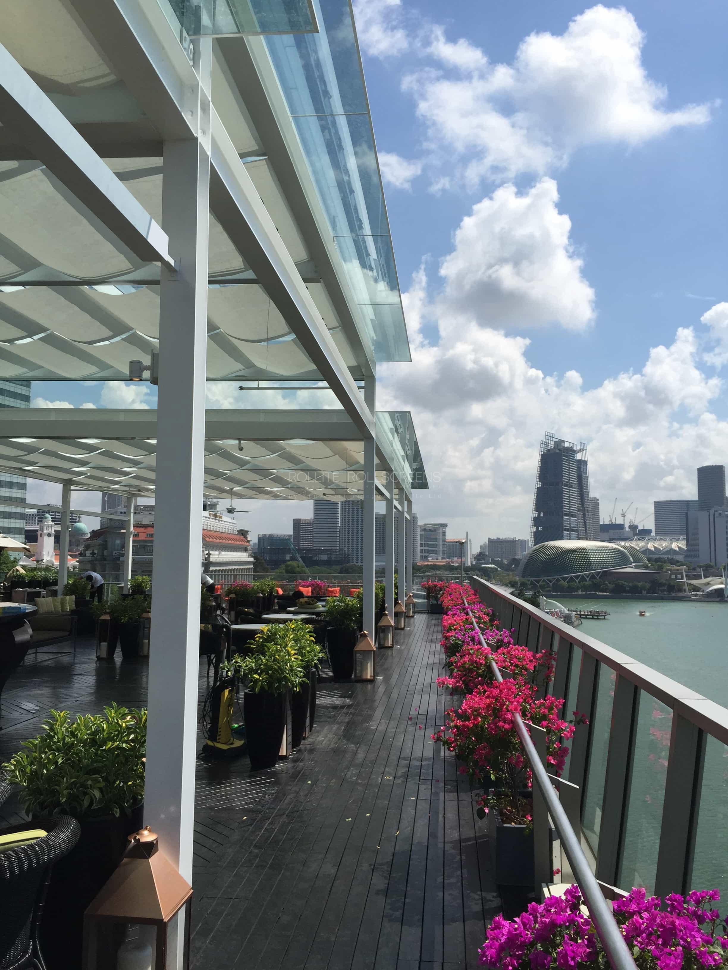 Sunscreen Singapore_Rollite External Scallop Skylight 3