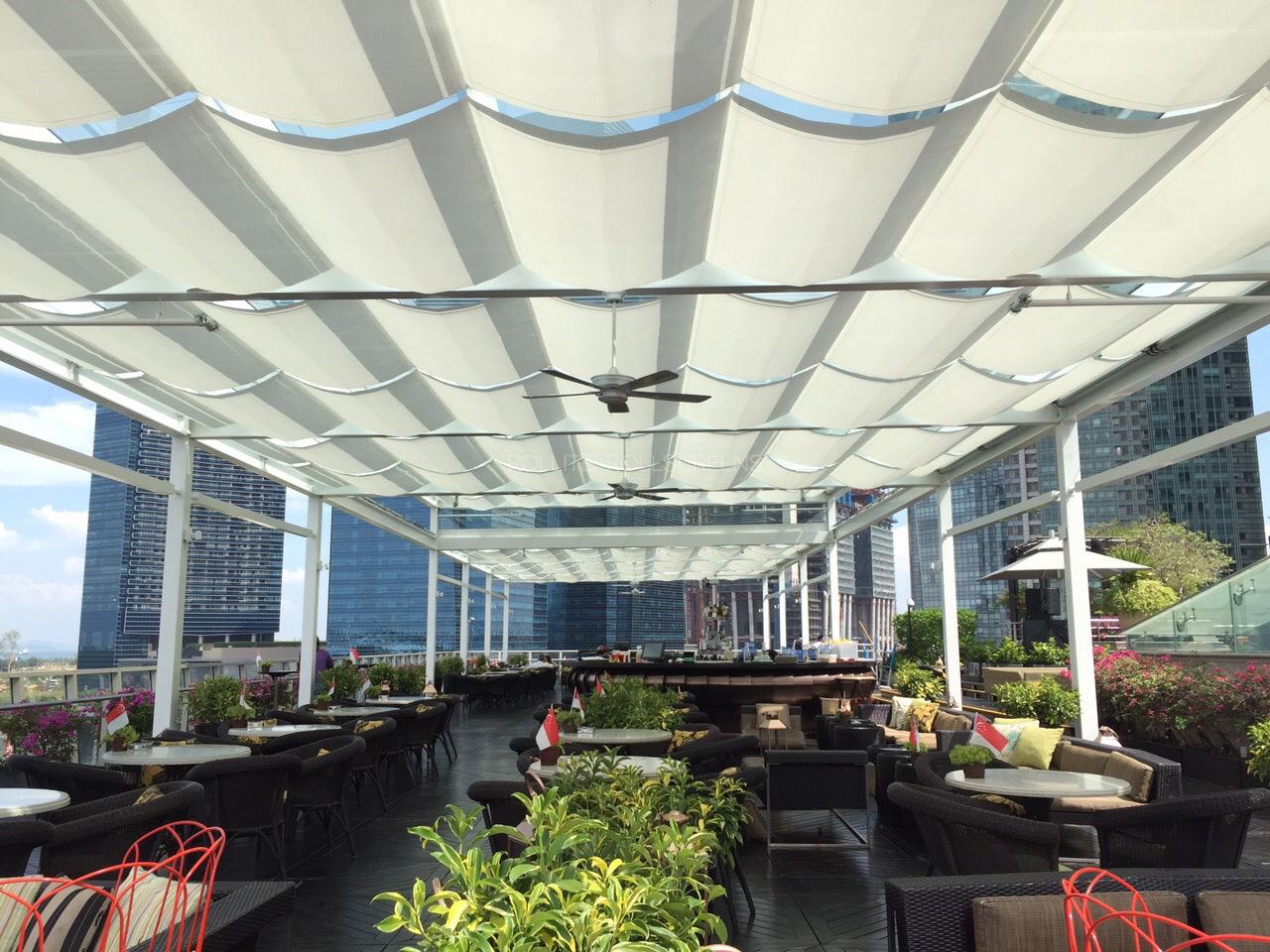 Sunscreen Singapore_Rollite External Scallop Skylight 5