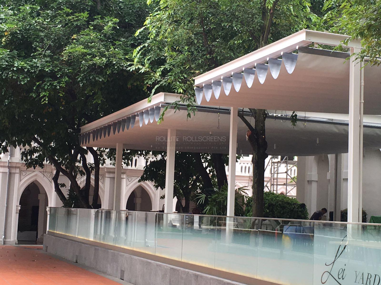 Sunscreen Singapore_Rollite External Scallop Skylight 7