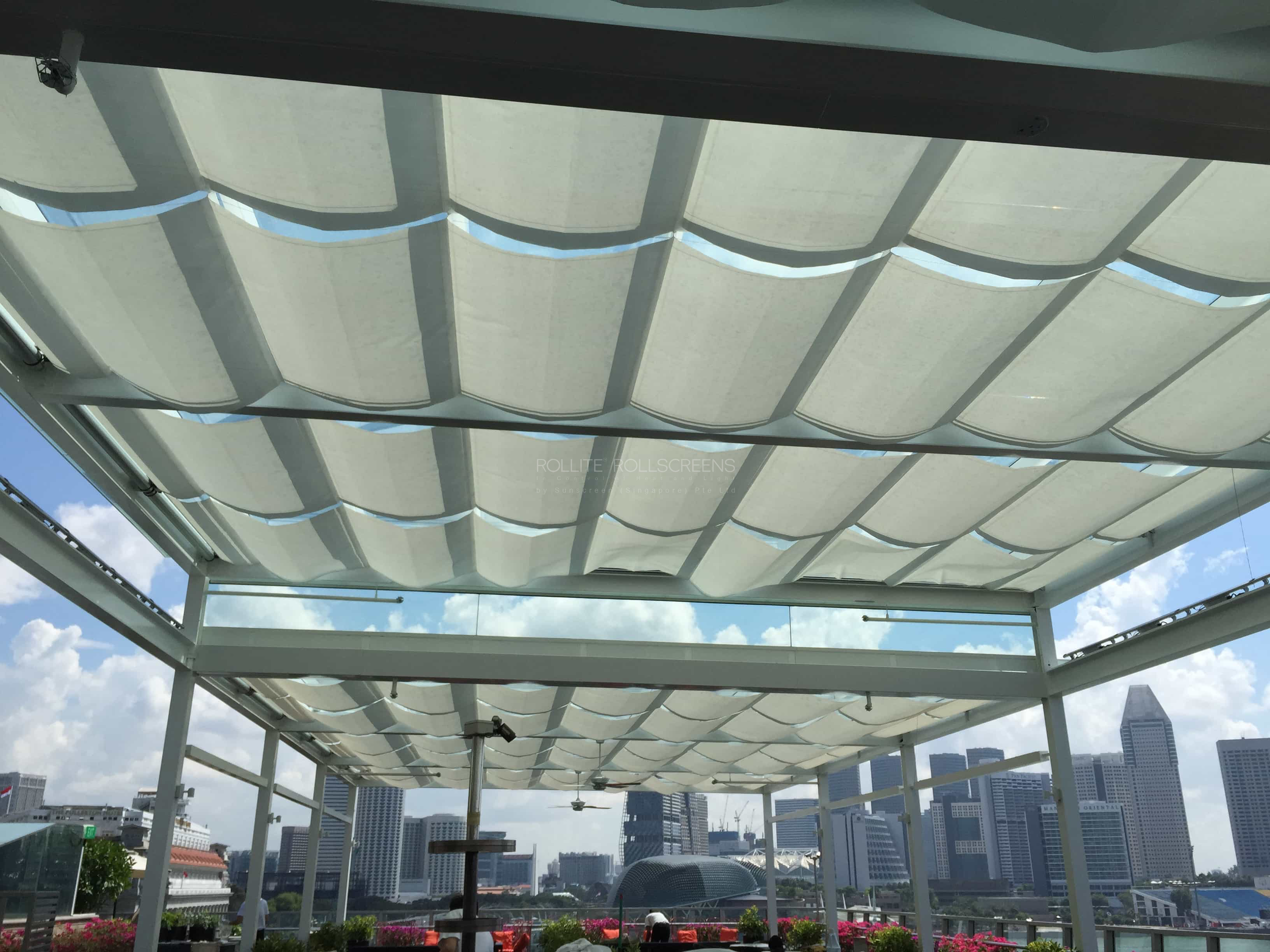 Sunscreen Singapore_Rollite External Scallop Skylight 1